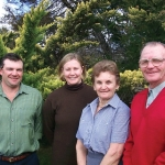 2002 Tony, Barbara, Philip & Jenni Carlon