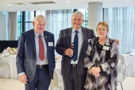 Barry Kinghorn, Bill Crawford, Dianne Kinghorn